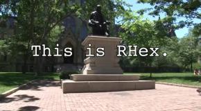 Новый робот RHex демонстрирует настоящий паркур