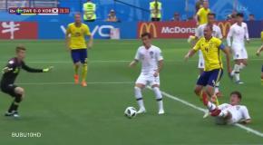 Швеция – Южная Корея: видео обзор матча ЧМ-2018