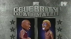 """м/ф """"Celebrity deathmatch: Michael Jordan vs Dennis Rodman"""""""