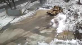 Дрифт танка