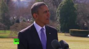 Обама хочет ввести санкции против экономики России