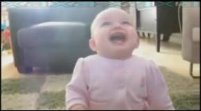 Детский смех ( замедленное видео )