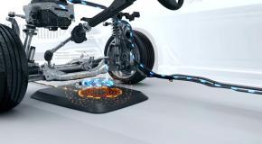 BMW представила беспроводную зарядку для электромобилей