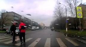 Очень медленный пешеход