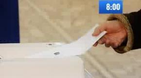 Выборы 8 сентября 2013 года- время голосования