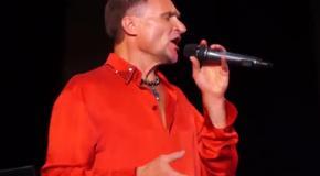 Скрипка исполнил в Одессе песню Утесова на украинском языке