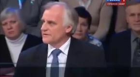 Натовец на российском ТВ: Это сеанс ненависти и пропаганды
