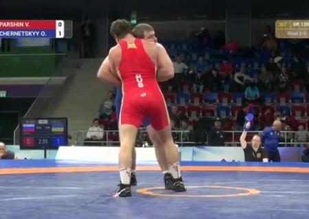 Украинский борец завоевал «бронзу» состязаний вАзербайджане
