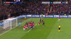 Вратарь Марибора совершил крутой сэйв на последних минутах Лиги чемпионов