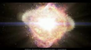На видео показали эволюцию Вселенной от начала времени