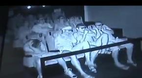 Скрытая камера в 7D кинотеатре