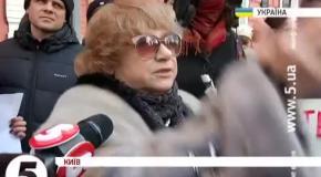 """""""Ти посмотри на свои глаза наркоманские"""" - профессор выразила недовольство Евромайданом"""