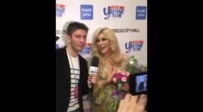 Таисия Повалий спела на украинском языке в Москве