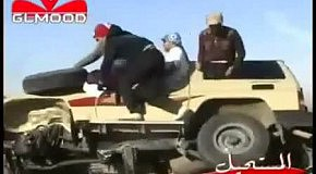 Замена колеса на ходу
