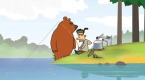 Лесное трио 9 серия Рыбалка