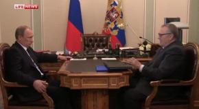 Владимир Путин призвал Жириновского не спекулировать на теме Кавказа
