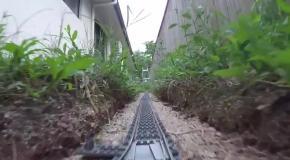 Невероятное путешествие по железной дороге от LEGO