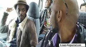 K'Naan и странный полицейский