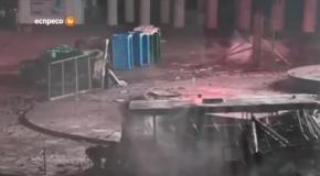 Штурм на Грушевского: Атака туалетов