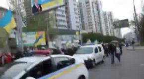 Донецк 10 минут перед СТОЛКНОВЕНИЕМ! 28 04 14