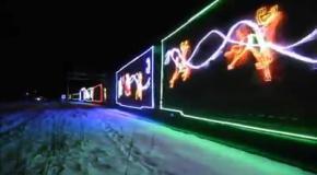 Рождественский поезд в Канаде