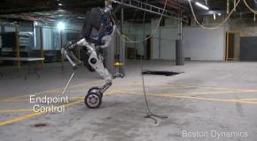 Робототехника Boston Dynamics - Introducing Handle