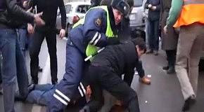 Самосуд над водителем в Москве