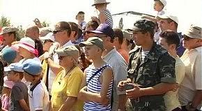 Житомир отметил день воздушно-десантных войск