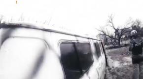 Залишити Піски - Втеча від танків під Градами