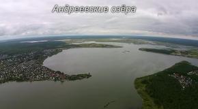 Проект новая высота - озёра Тюмени (Тюменский район)
