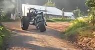 Как трактор стал мотоциклом