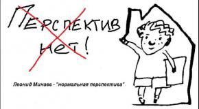 Леонид Минаев - нормальная перспектива