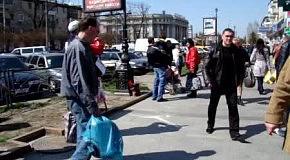 Уличная пасхальная проповедь