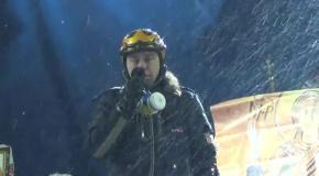 Виступ Ігоря Мірошниченка на Майдані Незалежности