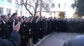 Каккрымский адмирал Березовский пытался купить украинских офицеров
