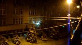 Апрель 2017. В Украине – снег...
