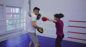 Тренировка по боксу для девушек