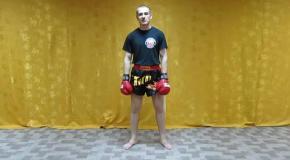 Удар СУПЕРМЕНА для тайского бокса и единоборств
