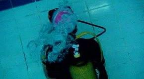 Дайвінг в акваріумі :D