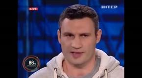 Оговорки Кличко: «А сегодня в завтрашний день не все могут смотреть»