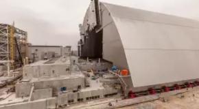 Чернобыльскую АЭС упаковали в новый саркофаг