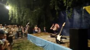 Пародист Дима Черников (Леди Гага) Концерт на Ивана Купала в пгт Врадиевка (Николаевская обл)