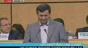 Речь Иранского президента на конференции ООН по вопросам расизма (20-04-2009)