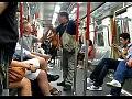 Жестокая разборка в метро