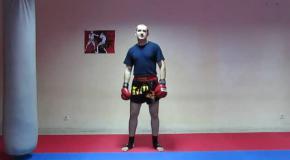 Нокаутирующая комбинация в контратаке для тайского бокса
