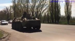 У границы с Украиной замечено перемещение военной техники России