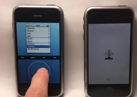 Два ранних прототипа iPhone появились навидео