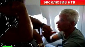Пьяный дебош россиянина в самолете сняли на видео
