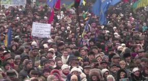 Виступ Олега Тягнибока на Євромайдані