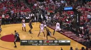 Топ-5 моментов NBA за 10 мая 2014